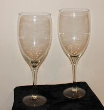 """Pair Champagne Glasses Oversized 19"""" Tall x 6.25"""" Wide Wedding Toast Catering"""