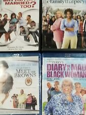 Tyler Perry Lot of Movies Blueray and Dvd