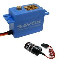 Savox SW-0231MG Waterproof High Torque STD Metal Gear Digital Servo + Glitch ...