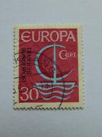 BRD 30 Pfennig(.) Europa 1966 mit Plattenfehler Mi 520 I