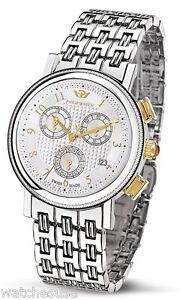 Philip Watch Mens Silver Dial Stainless Steel Bracelet Watch 8273103245