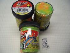 Berkley Power Bait Trout Bait Glitter Gulp Rainbow Candy 3x50g-Glas 100g/6,66€