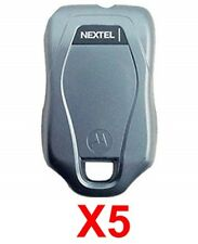 Lot Of 5 Oem Mot 00004000 orola Nextel ic402 extended Battery Back Door Good Used