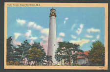 PPC #K30* Good Post Card Light House Cape May Point NJ Mint