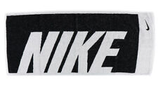 Nike Jacquard Towel Medium Tennis Swimming Black White 80cm x 35cm AC2383-036