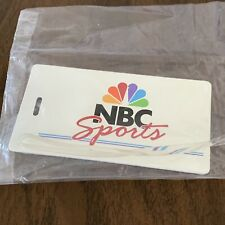 1990s NBC Sports Luggage Tag Media Press New in Package