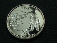 UNITED STATES    25  Cents    2002  -  S    PROOF  ,   OHIO ,   NO  YELLOW  TONE