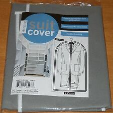 Suit Garment Clothes Storage Bag Dust Protector Non-Woven Zippered Cover