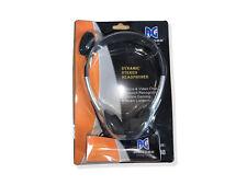 PC Stereo Headset - Kopfhörer + Mikrofon - Nackenbügel - Computer VoIP Telefonie