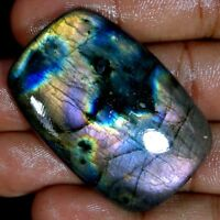 100% Natural Multi Fire Spectrolite Labradorite Cabochon Multi Flash Gemstone