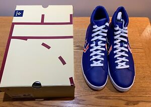 Converse Pro Leather Mid Breaking Barriers New York Knicks Mens 166809c sz 12
