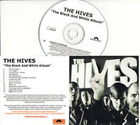 THE HIVES The Black And White Album UK 14-trk numbered/watermarked promo test CD