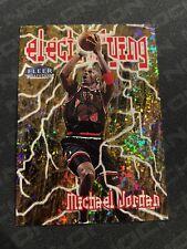 1998 Fleer Tradition Electrifying #6/10 Michael Jordan Rare! Great Condition!