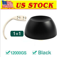 12000GS Magnetic EAS Security Tag Tool with Hook Key, Black[US in STOCK]