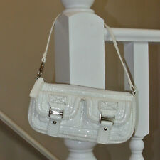 Michael Kors White Patent Leather Clutch Wallet Wristlet