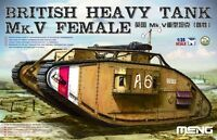 Meng TS-029 Model 1/35 British Heavy Tank Mk.V Female Hot