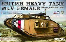 Meng TS-029 1/35 British Heavy Tank MKV Female Brand