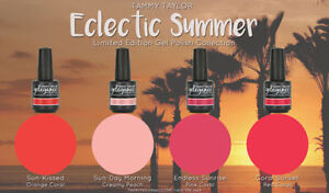 """Tammy Taylor Nails -""""ECLECTIC SUMMER"""" COLLECTION GEL POLISH COLORS"""