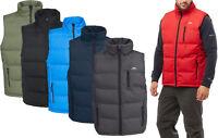 Trespass CLASP Mens Padded Gilet Light Weight Quilted Bodywarmer Vest Waistcoat