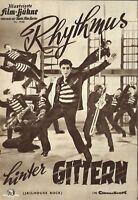 IFB 4166 | RHYTHMUS HINTER GITTERN | Elvis Presley, Judy Tyler, Dean Jones | Top