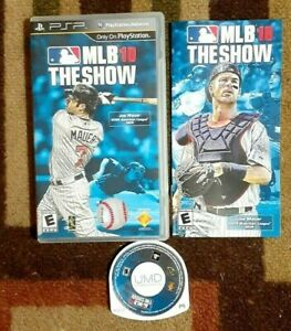 MLB 10: The Show Complete (Sony PSP, 2010) VG Shape & Tested