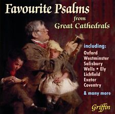 CD FAVOURITE PSALMS from GREAT CATHEDRALS OXFORD WESTMINSTER WELLS SALISBURY ELY