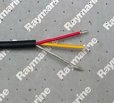 Raymarine Seatalk 1 Cable 3 core red yellow screen fully tinned Per metre