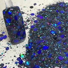 glitter mix nail art acrylic gel      PASSIONATE