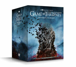 Game of Thrones Complete Series Seasons 1-8 (DVD, 38-Disc Boxed Set),NEW