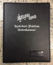 Chormappen mit Ihrem Logo Notenmappen Sängermappe Kirchenchor
