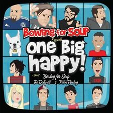 Bowling for Soup Presents... One Big Happy by Patent Pending (Punk)/The Dollyrots/Bowling for Soup (CD, Sep-2012, Que-So)