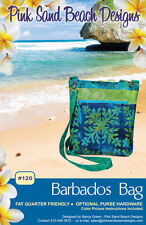 "BARBADOS BAG Purse Sewing Pattern by Pink Sand Beach Designs 10.5""x10""x2"""