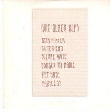 (CE124) Nine Black Alps, Burn Faster - 2007 DJ CD