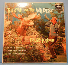 LOUIS PRIMA CALL OF THE WILDEST LP 1957 MONO TEAL LABEL PLAYS GREAT! VG/VG+!!A