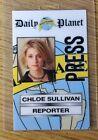 Superman Smallville ID Badge-Chloe Sullivan Reporter costume prop cosplay