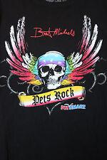Bret Michaels Petsmart Pet Rocks Skull Signature T-Shirt (H37)
