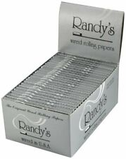 1 BOX Randy's Original Wired Cigarette Rolling Papers (25 packs)  + FREE GIFT