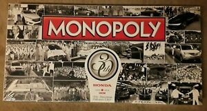 Monopoly- Honda 30th Anniversary - Sealed - New - Rare