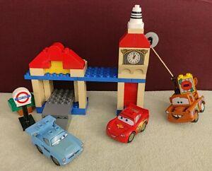 Lego Duplo Cars 2 5828 - Big Bentley -  Disney Pixar Londres McQueen Finn