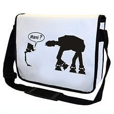 Mami AT-AT AT-ST Star Wars Satire Fun Motiv Spaß Umhängetasche Messenger Bag