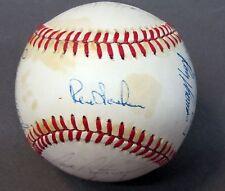 1983 SEATTLE MARINERS team signed autographed baseball 17 signatures