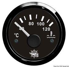Indicatore temperatura acqua 40/120° nero/nera | Marca Osculati | 27.320.08