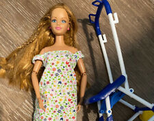 Mattel Happy Family Midge & Stroller (No Belly)