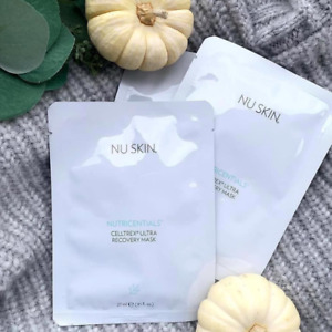 (3 Sheets) Nu Skin NuSkin Nutricentials Celltrex Ultra Recovery Mask
