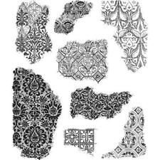 Tim Holtz Cling STAMPS 7inch X8.5inch - Fragments