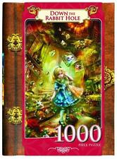 CLASSIC BOOK BOX JIGSAW PUZZLE DOWN THE RABBIT HOLE SHU 1000 PCS