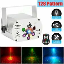 LED Discokugel Party RGB Bühnenbeleuchtung DJ Disco Projektor Fernbedienung DE
