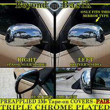 2006-2012 TOYOTA RAV4 Chrome Mirror COVERS Overlays Trims Caps W/O Turn Signal