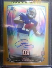 2014 Bowman Chrome GOLD AUTO Rookie *ODELL BECKHAM JR* RC /50 Browns SP 14 Topps