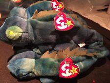 "1997 ""Iggy"" The Iguana Original TY Plush Beanie Baby With Tag Retired"